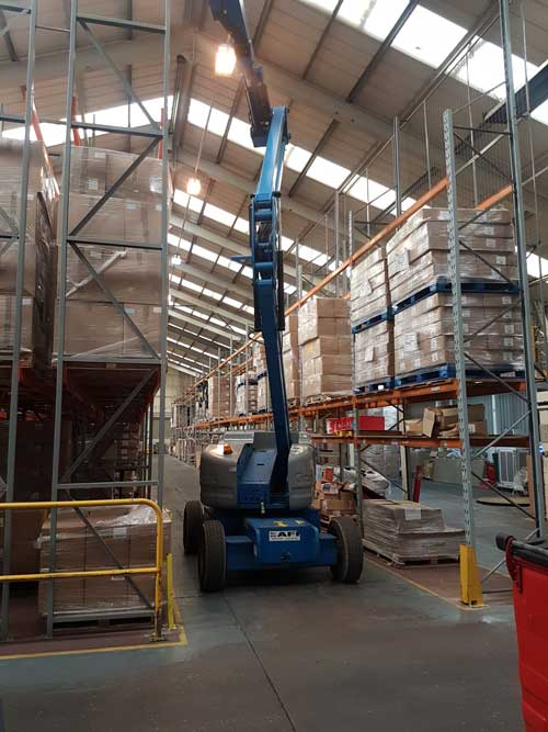 High Level Factory Cleaning   Carlton Cleaning UK Ltd