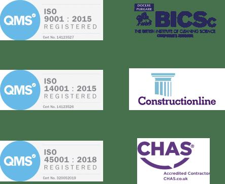 Certifications (2)   Carlton Cleaning UK Ltd