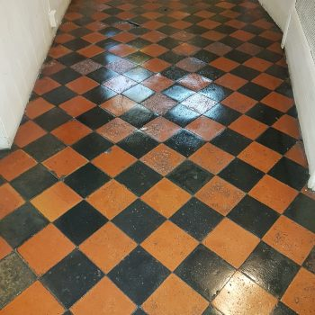 Entrance Floor After Cleaning | Carlton Cleaning UK Ltd